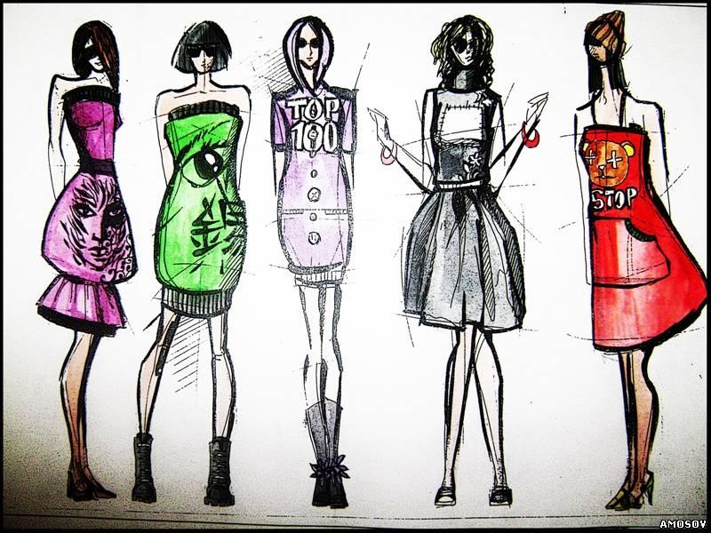 Как создать свою коллекцию одежды - Блог о моде, путешествиях и здоровом